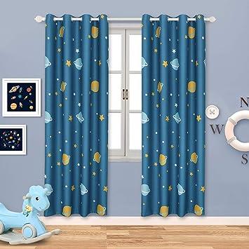 Bgment Rideaux Fenetre Occultants Thermiques Tissu Solid Lourd 100 Polyester Isolation Pour Chambre Maison Enfants Lot De 2 Rideau Panneaux 2x L