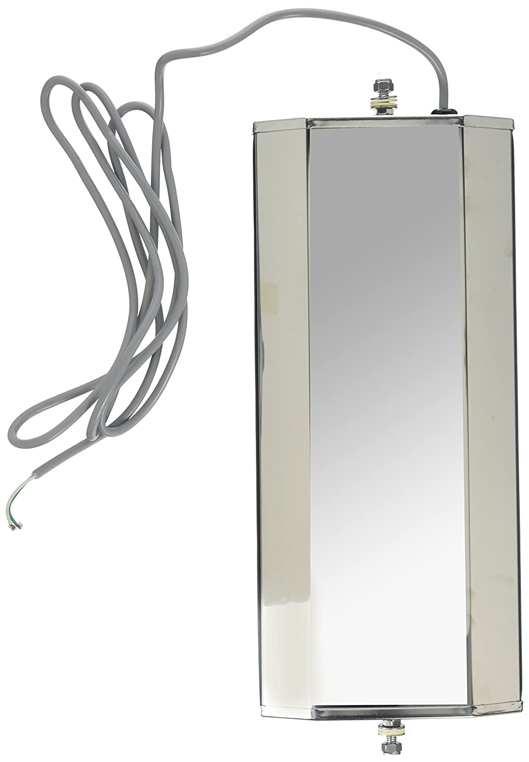 Stainless Steel Grote 16053 Ice /& Frost-Free Heated West Coast Mirror