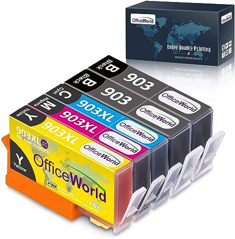 OfficeWorld 903 903L 903XL Alta Capacidad Cartuchos de tinta ...