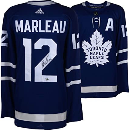 Patrick Marleau Toronto Maple Leafs Autographed Blue Adidas Authentic Jersey  - Fanatics Authentic Certified ca908059d