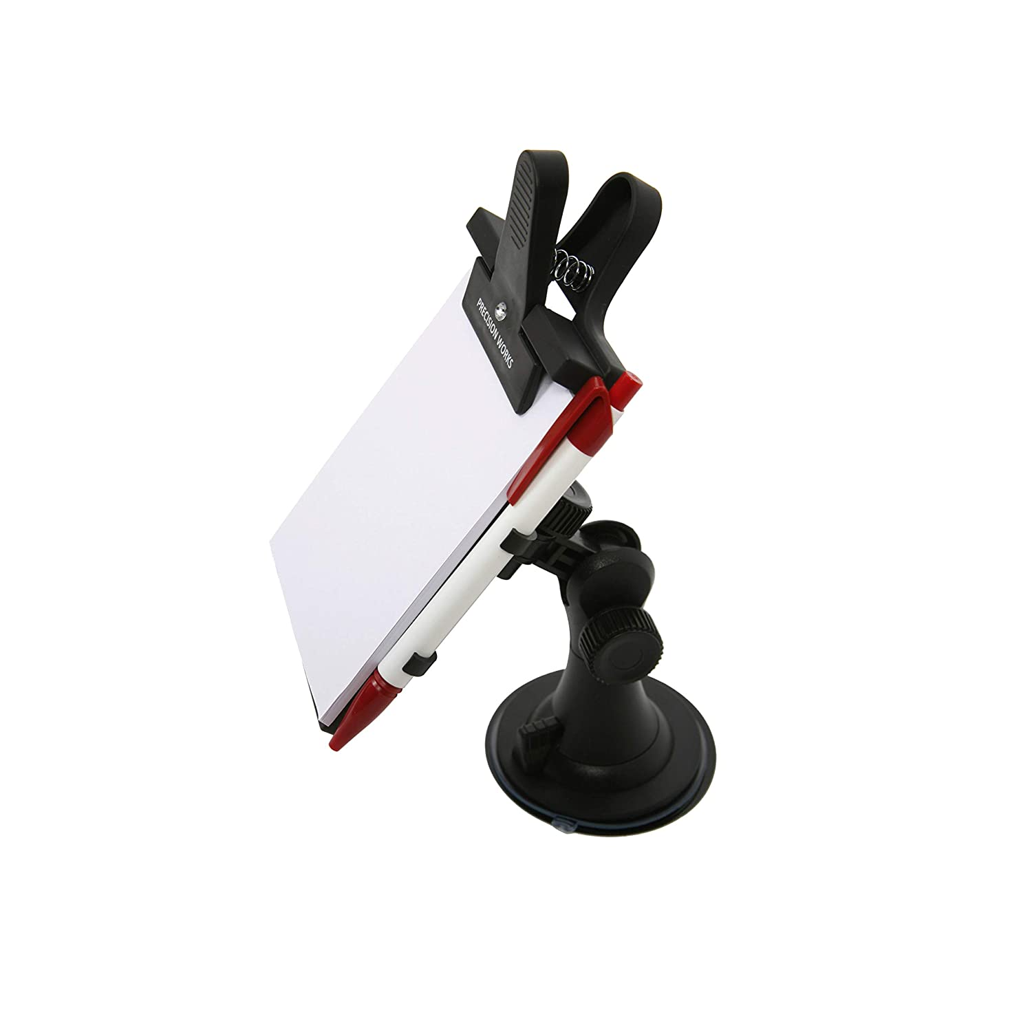 Dashboard Memo Pad For Car Windshield Or Dashboard By Precision Works (Notepad Holder)