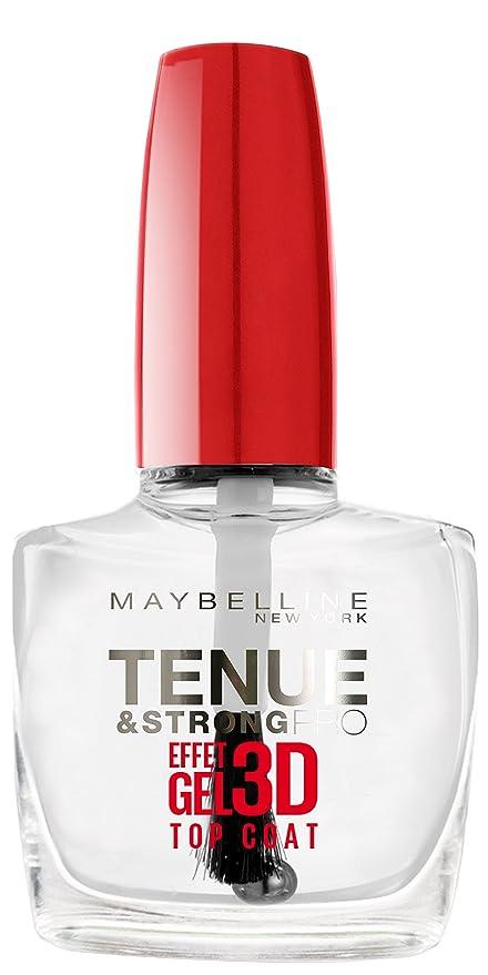 Maybelline SuperStay 7 Days 3D Gel Effect - top coat esmaltes de ...