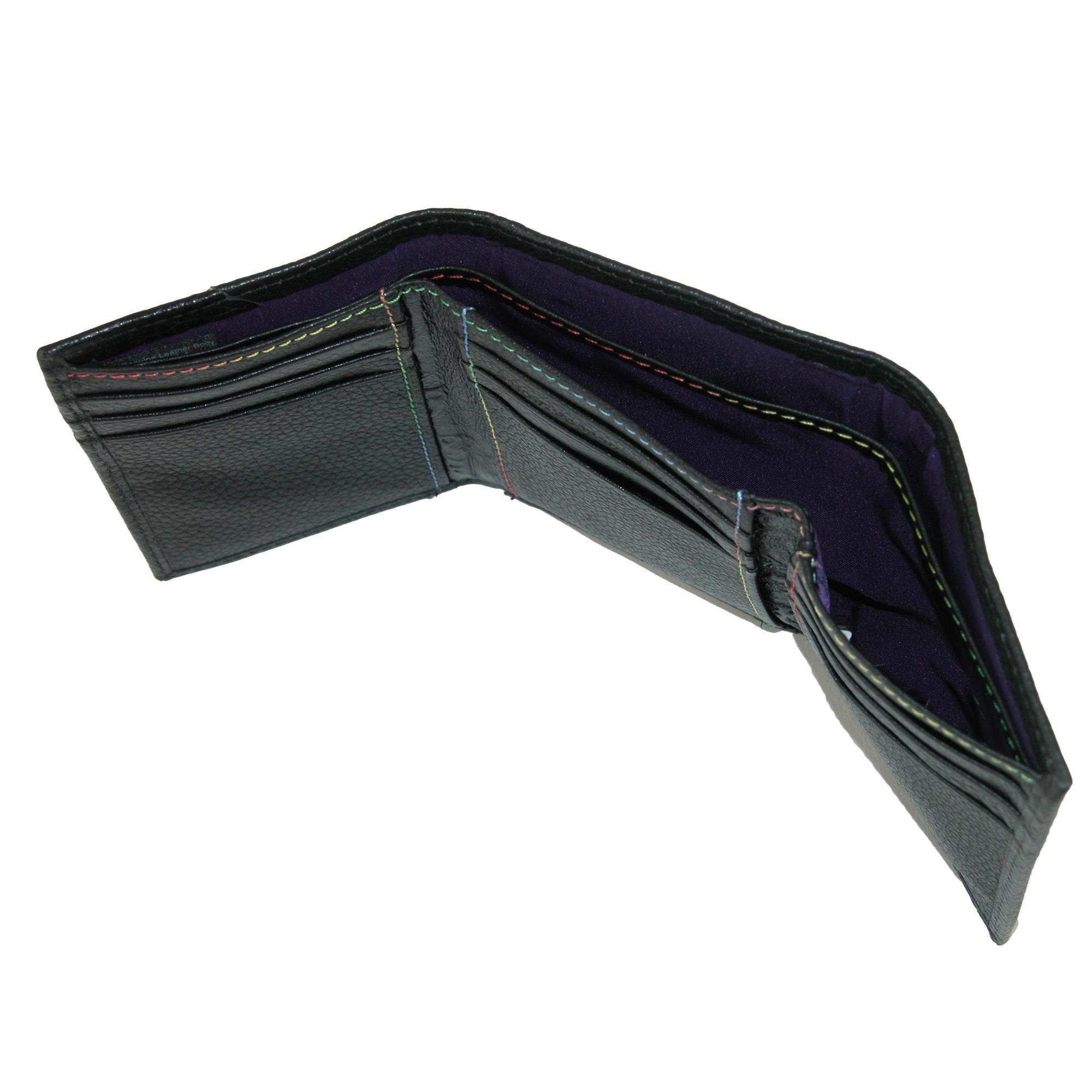 Robert Graham Men's Clarke Trifold Wallet, Black, One Size by Robert Graham (Image #3)