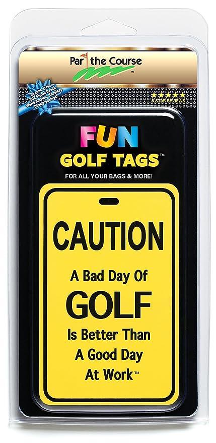 Amazon.com: Fun Golf etiquetas, etiquetas reflectantes de ...