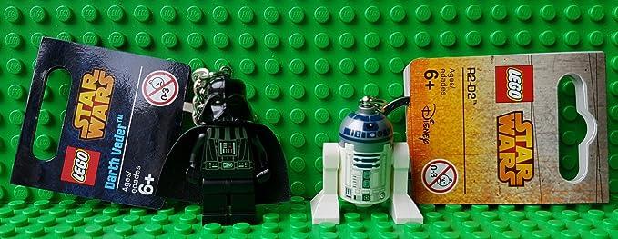 LEGO Darth Vader & ----R2 D2 - Llaveros Star Wars - 2 ...
