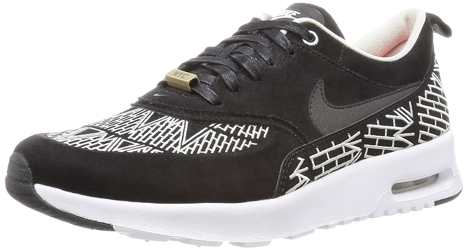 NIKE Women's Air Max Thea Low-Top Sneakers, Black B01D9FKPCU 7.5 B(M) US|Black