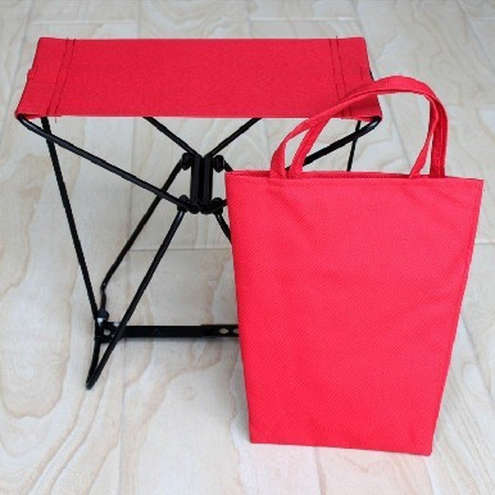 Trymway Outdoor adjustable Folding Pocket Chair AMAZING chair fits in Portable chair holds 250 LBS PLUS CARRY Bag NEW Fishing Stool Garden seat