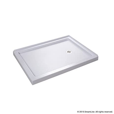 double threshold shower base right hand