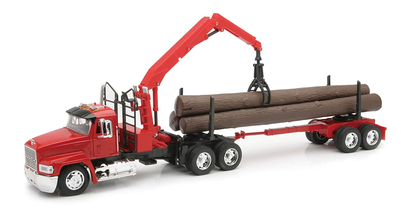 Toy Semi Tractor : Toy kenworth logging trucks wow