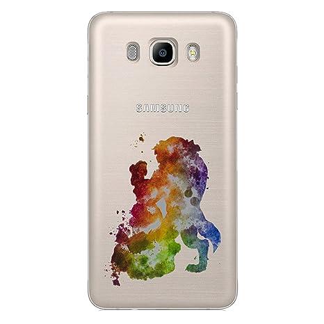 ce050822255f35 Fan Art Étui Coque de Téléphone pour Samsung Galaxy J5 2016   Silicone Doux  Gel