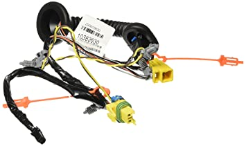 71aSTBtfcmL._SX355_ amazon com genuine gm 10383630 door wiring harness, rear automotive Wire Harness Assembly at bayanpartner.co