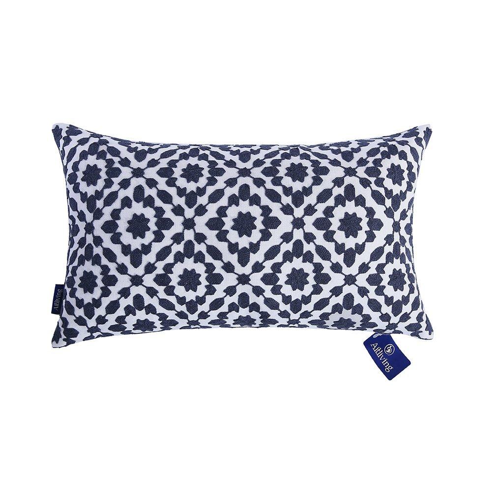 Navy Blue Cushions Amazon Co Uk
