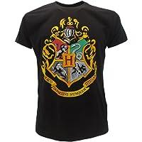 T-Shirt Camiseta BLASON Armas de Colegio Hogwarts Harry Potter - 100% Oficial Warner Bros