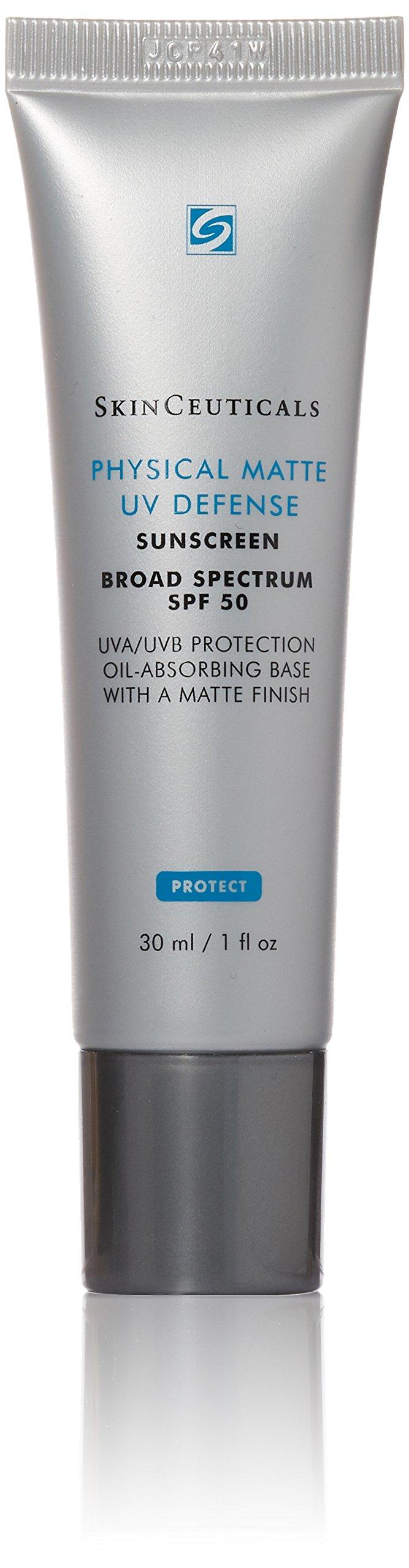 SkinCeuticals Physical Matte UV Defense, SPF 50, 1.0 Fluid Ounce