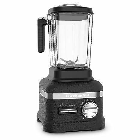 KitchenAid Artisan Power Plus 5KSB8270BBK 1800-Watt Blender with Thermal Control Jar (Imperial Black) Hand Blenders at amazon