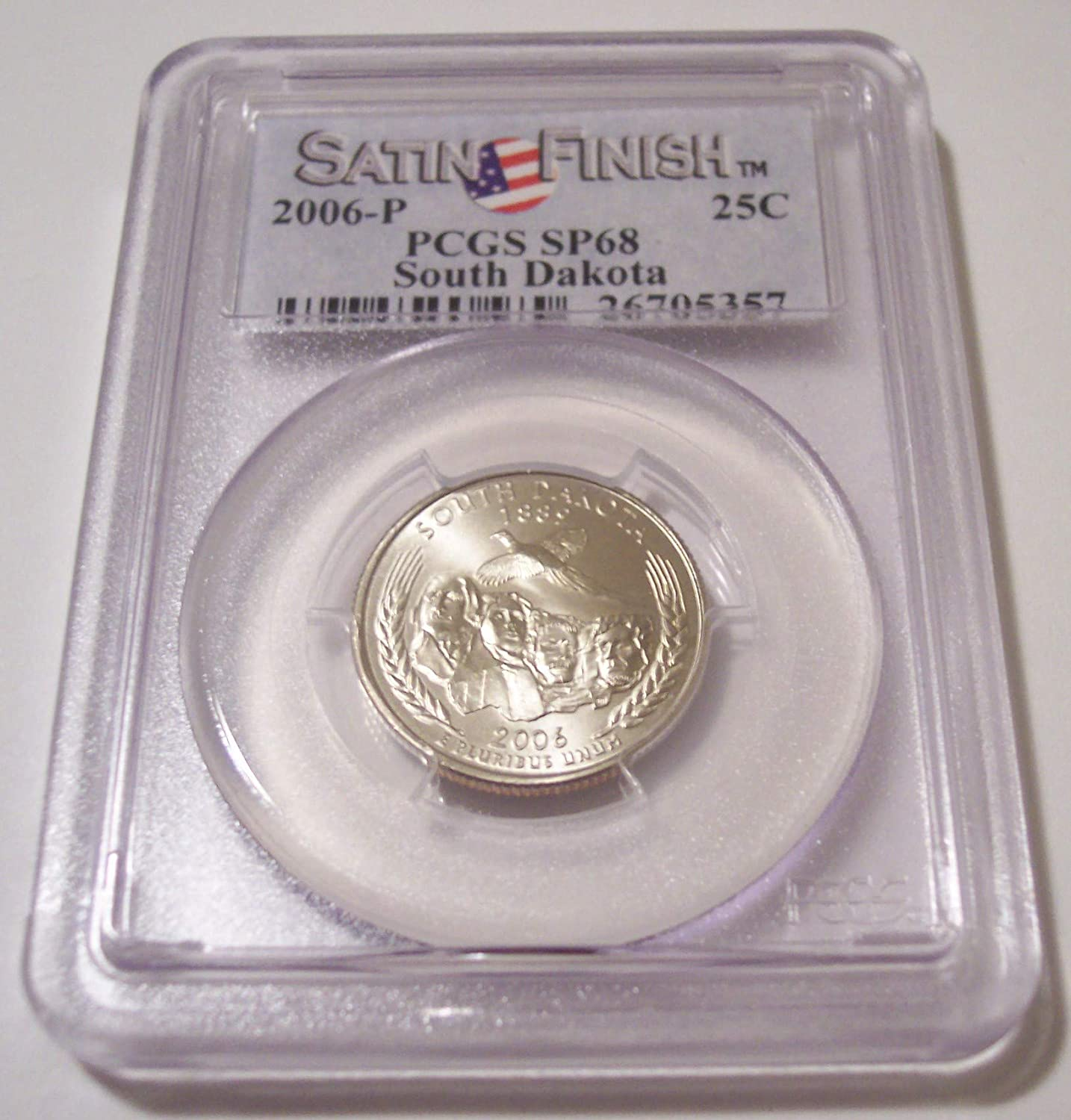 Silver /& Clad 2006 S South Dakota Proof DCam State Quarters Combined Shipping