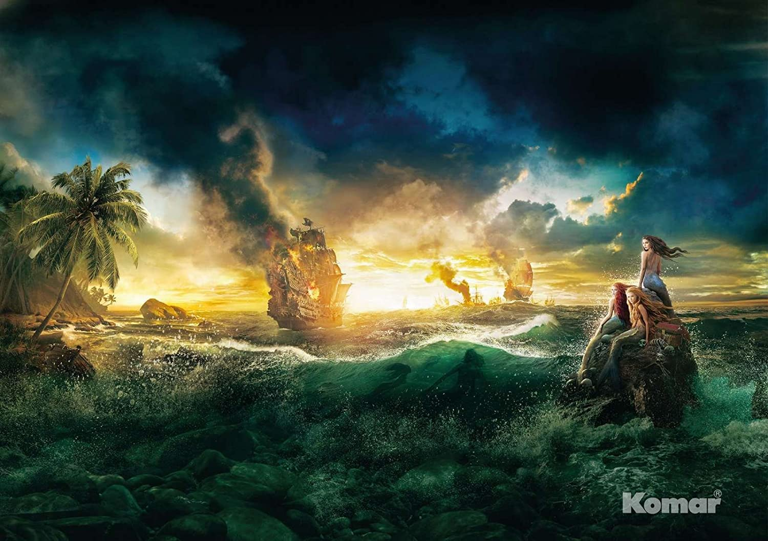 Wall Mural Photo Wallpaper Kids Pirates Of The Caribbean 6 X4 1