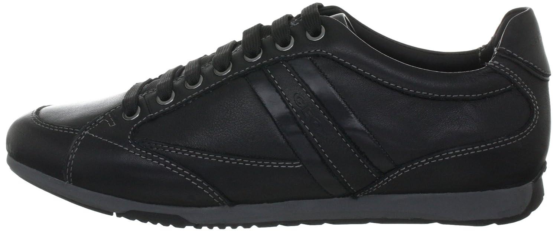 UOMO LORENZO U03Z6P00046C9999, Herren Fashion Sneakers, Schwarz (BLACK C9999), EU 43 Geox