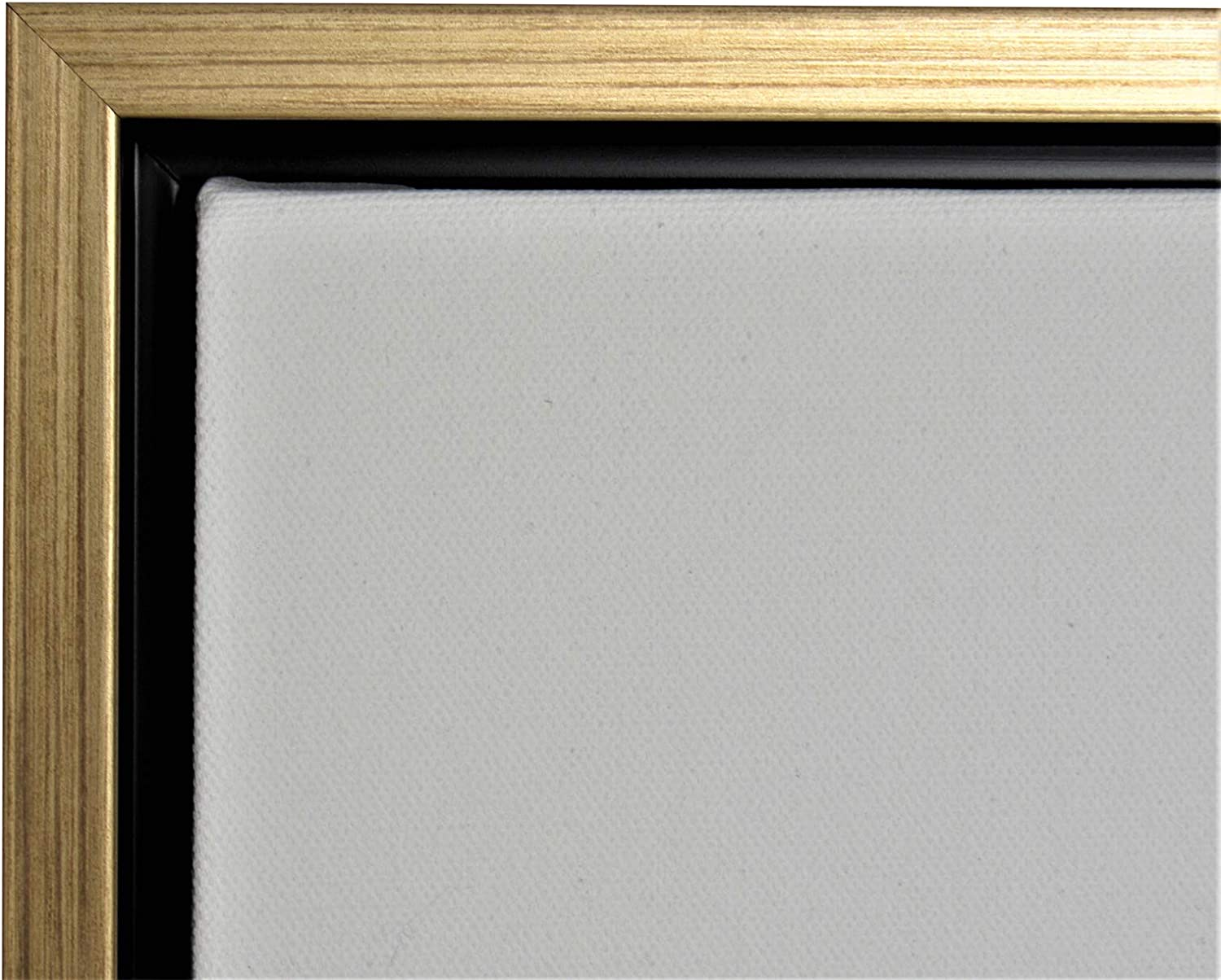 Amazon Com Gold Floater Picture Frame 1 3 8 Deep For 3 4 Canvas Different Sizes 8x10