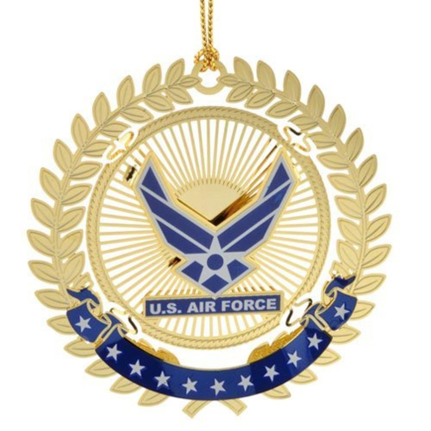 United States Air Force Logo Christmas Ornament