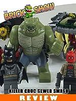 LEGO DC Comics Batman : Killer Croc Sewer Smash Review (76055) [OV]
