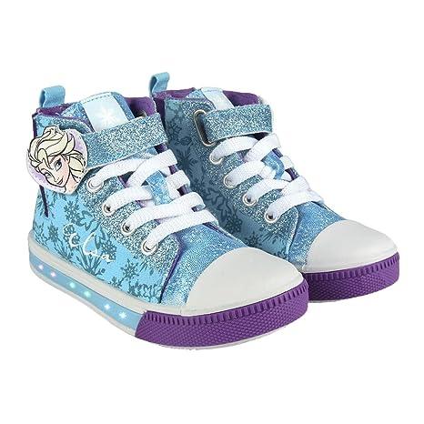promo code 391a6 8f68a Frozen 2300002941 Scarpe Tela, Luce LED, Bambina, Elsa, Anna ...