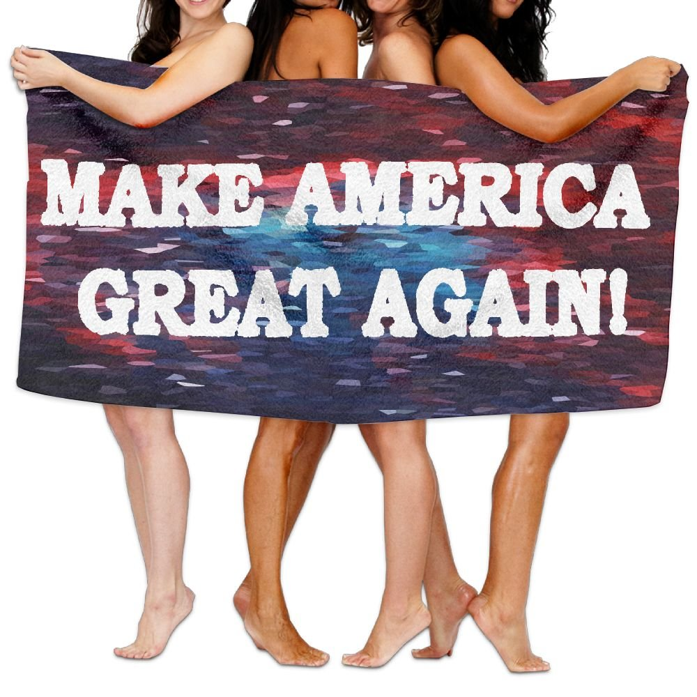 Make America Great Again Large Beach Towel Pool Easy Care, Maximum Softness And Absorbency