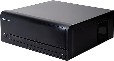 Silverstone LC20B-M HTPC Negro 400 W - Caja de Ordenador (HTPC, PC, Aluminio, Negro, 400 W, 430 mm): Amazon.es: Informática
