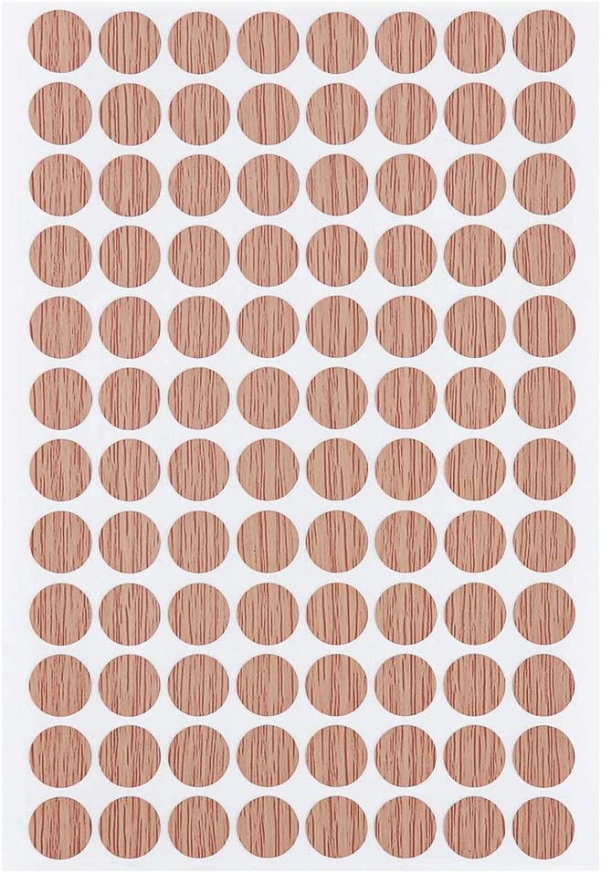 adhesivo para tornillos Tapas adhesivas de PVC para muebles tapones de tornillos Weiye