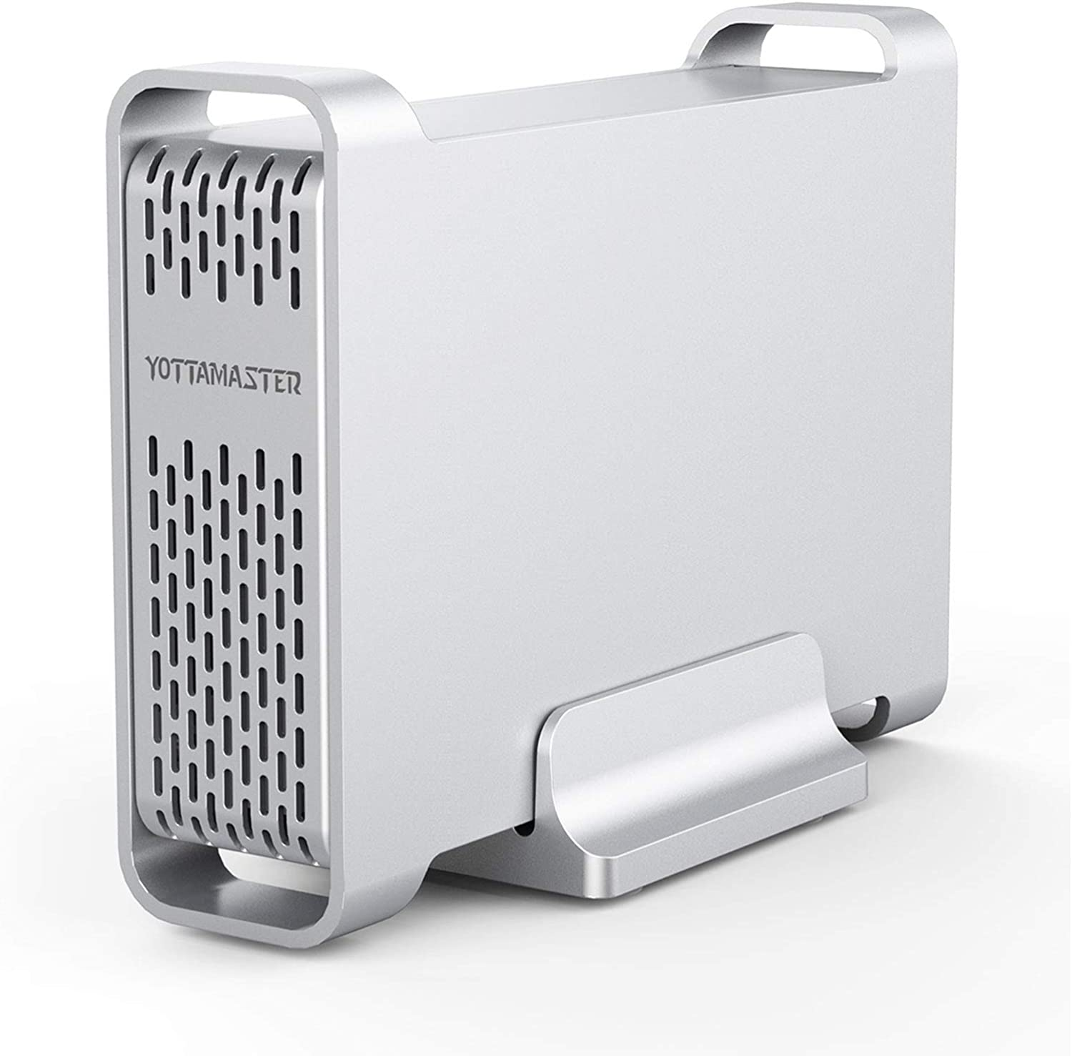 "Yottamaster Aluminum Alloy 2.5 inch USB3.0 External Hard Drive Enclosure for 12.5mm 9.5mm 7mm 2.5"" HDD SSD Support UASP"