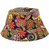 Italily-Cappello Pescatore Uomo Donna Estivo Anti UV Tesa Larga Bucket Hat  Impermeabile Pieghevole Cappelli 0ac18d6fc53d