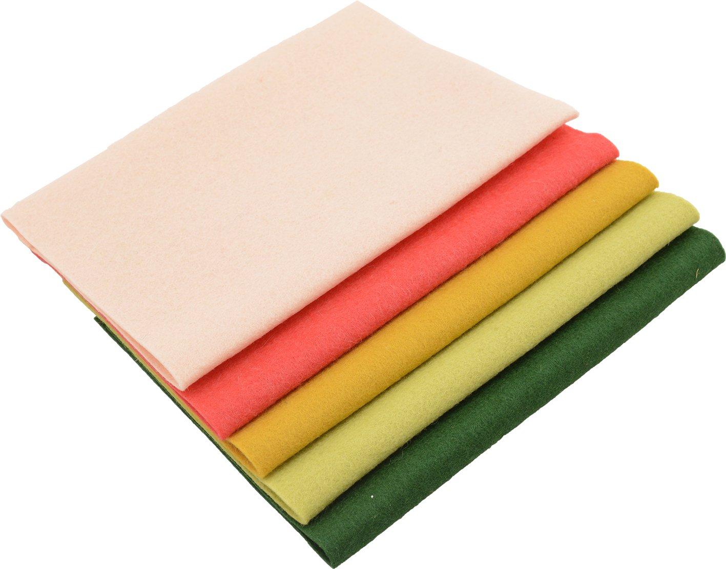 De Witte Engel Fashion 100 Percent Woollen Felt Pack, Multi-Colour, 28 x 25 x 2.5 cm VAS007