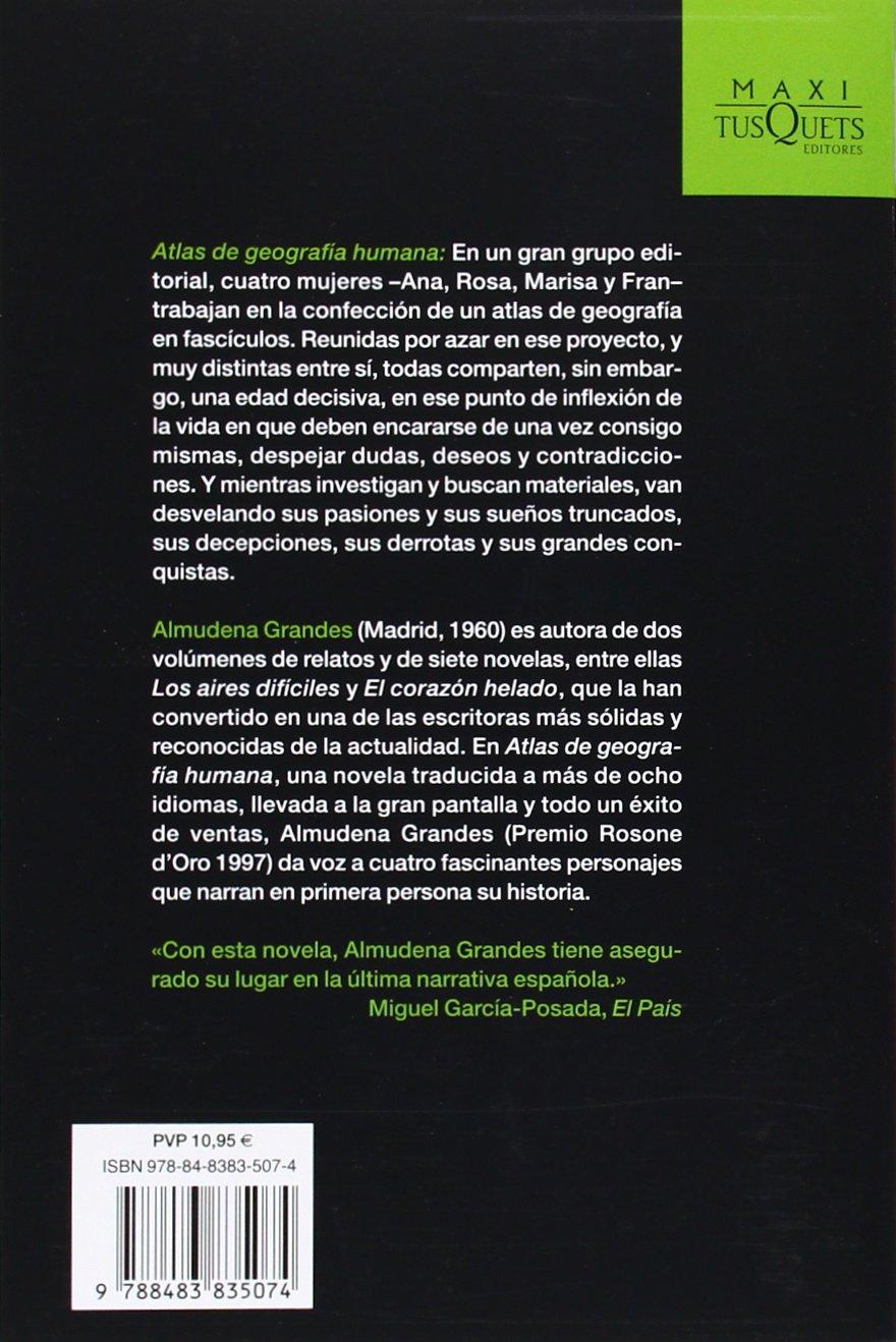 Atlas de geografía humana (MAXI): Amazon.es: Grandes, Almudena: Libros