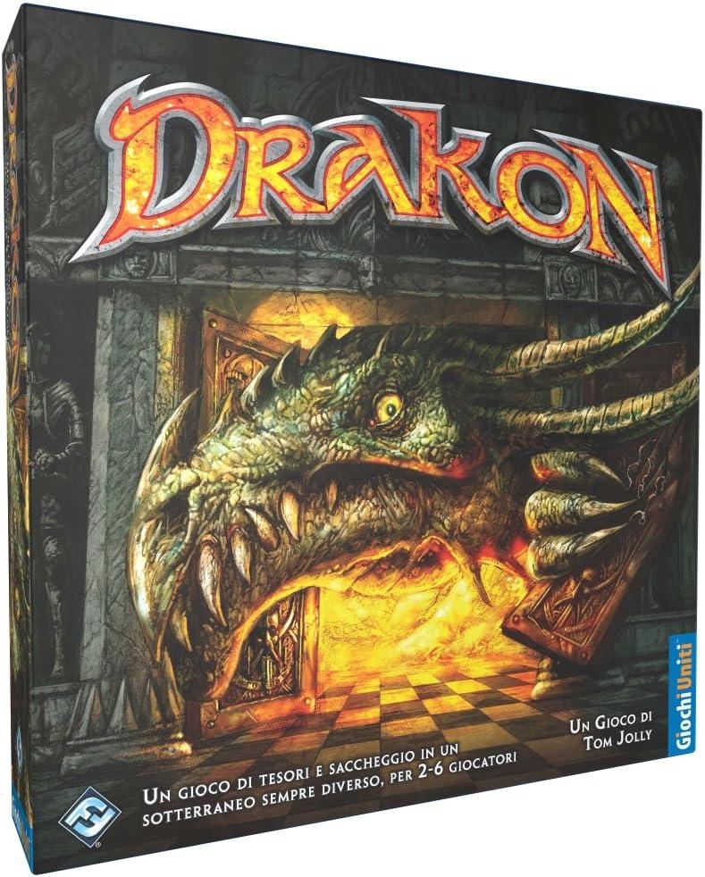 Giochi Uniti Drakon - Juego de Mesa: Amazon.es: Juguetes y juegos