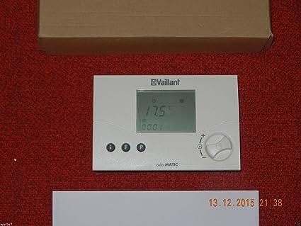 Vaillant vrt 240 calorMATIC inalámbrico regulador de temperatura para, ungebraucht para Notebook