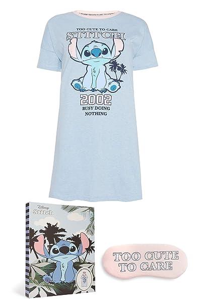 216825634 Disney Stitch Camisón con Ojo Máscara  Amazon.es  Ropa y accesorios