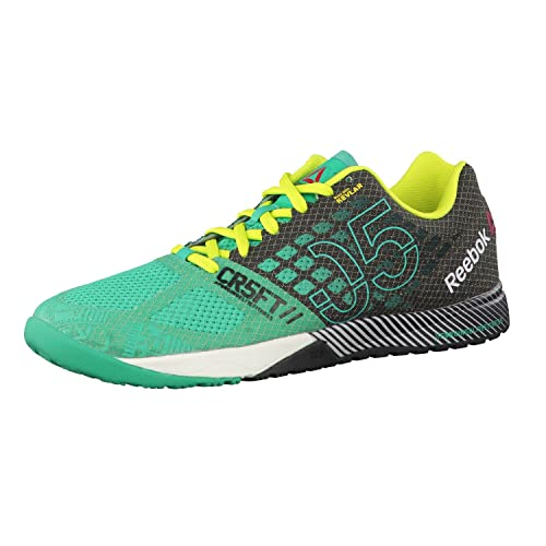 ReebokR Crossfit Nano 5.0 - Zapatillas de Deportes de Interior Mujer, Verde (Vert - Green/Black/Yellow/Chalk), 35: Amazon.es: Zapatos y complementos