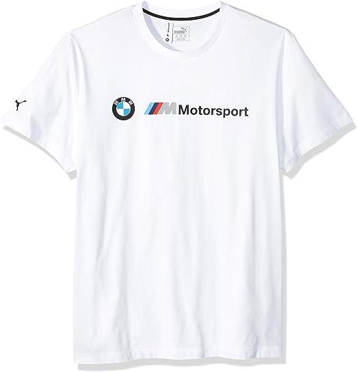 Puma Herren Bmw Motorsport Logo Tee T Shirt Weiß X Large Bekleidung