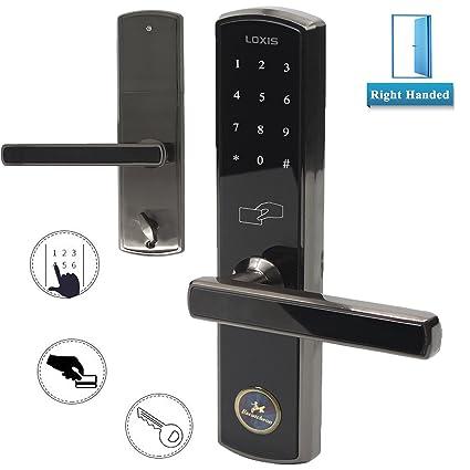 Puerta Eléctrica cerradura de combinación sin llave entrada digital código pantalla táctil Teclado Contraseña 4 –