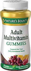 Nature's Bounty Adult Multivitamin Gummies 75 Each