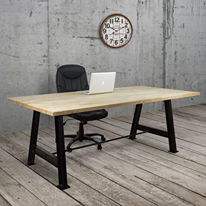 Ds Dropshipping Table Industrielle Beam 80 X 200 X 75 Cm
