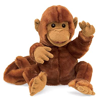 Folkmanis Classic Monkey Hand Puppet: Toys & Games