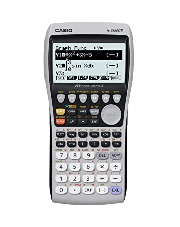 Image result for Casio-FX-9860GII-USB-Power-Graphic-Calculator