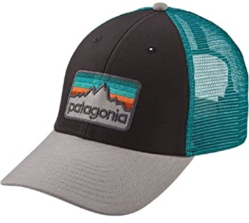 Patagonia Men s Line Logo Badge LoPro Trucker Hat (Black)  Amazon.co.uk   Sports   Outdoors 1c5adb3b926