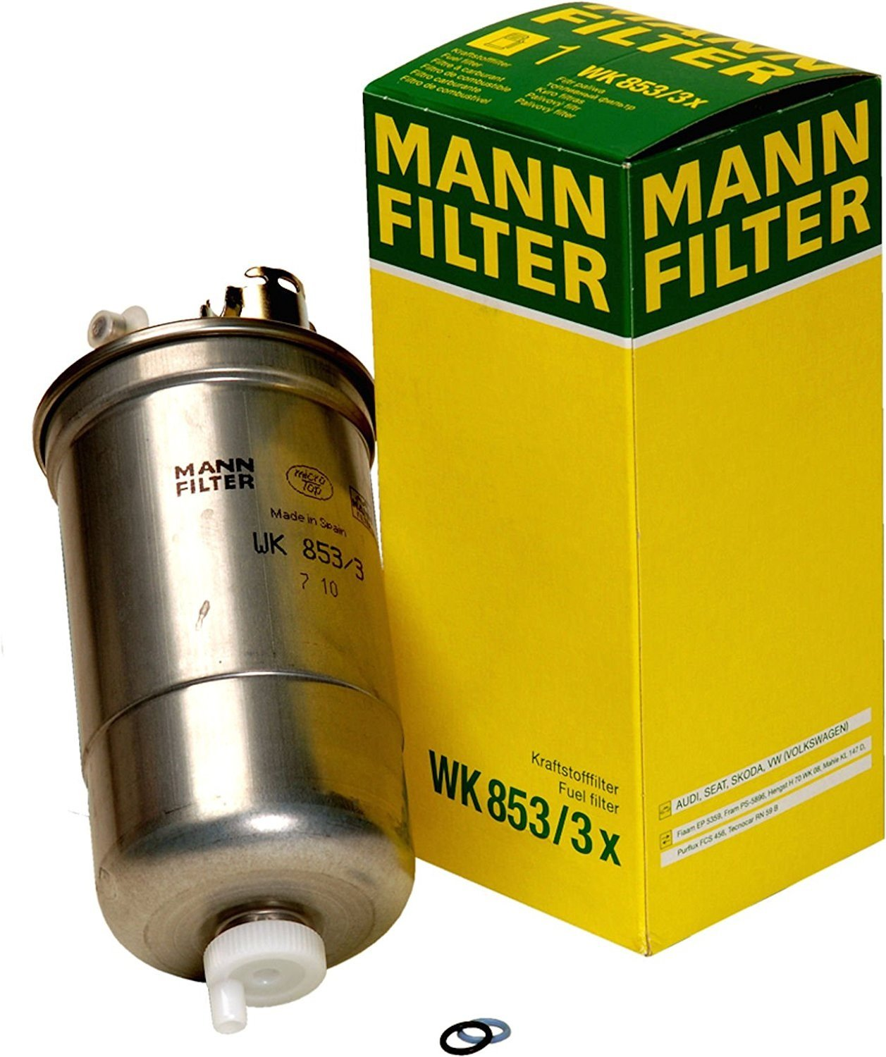 fuel filter mann wk 11030 wiring library  amazon com mann filter wk 853 3 x fuel filter automotive