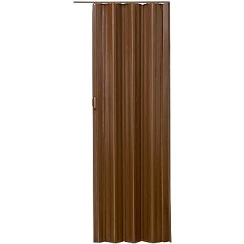 Tectake Porte Extensible Accordeon 80 X 203 Cm Plastique Pvc Porte