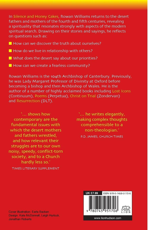 Silence and Honey Cakes: Dr Rowan Williams: 9780745951706: Amazon ...