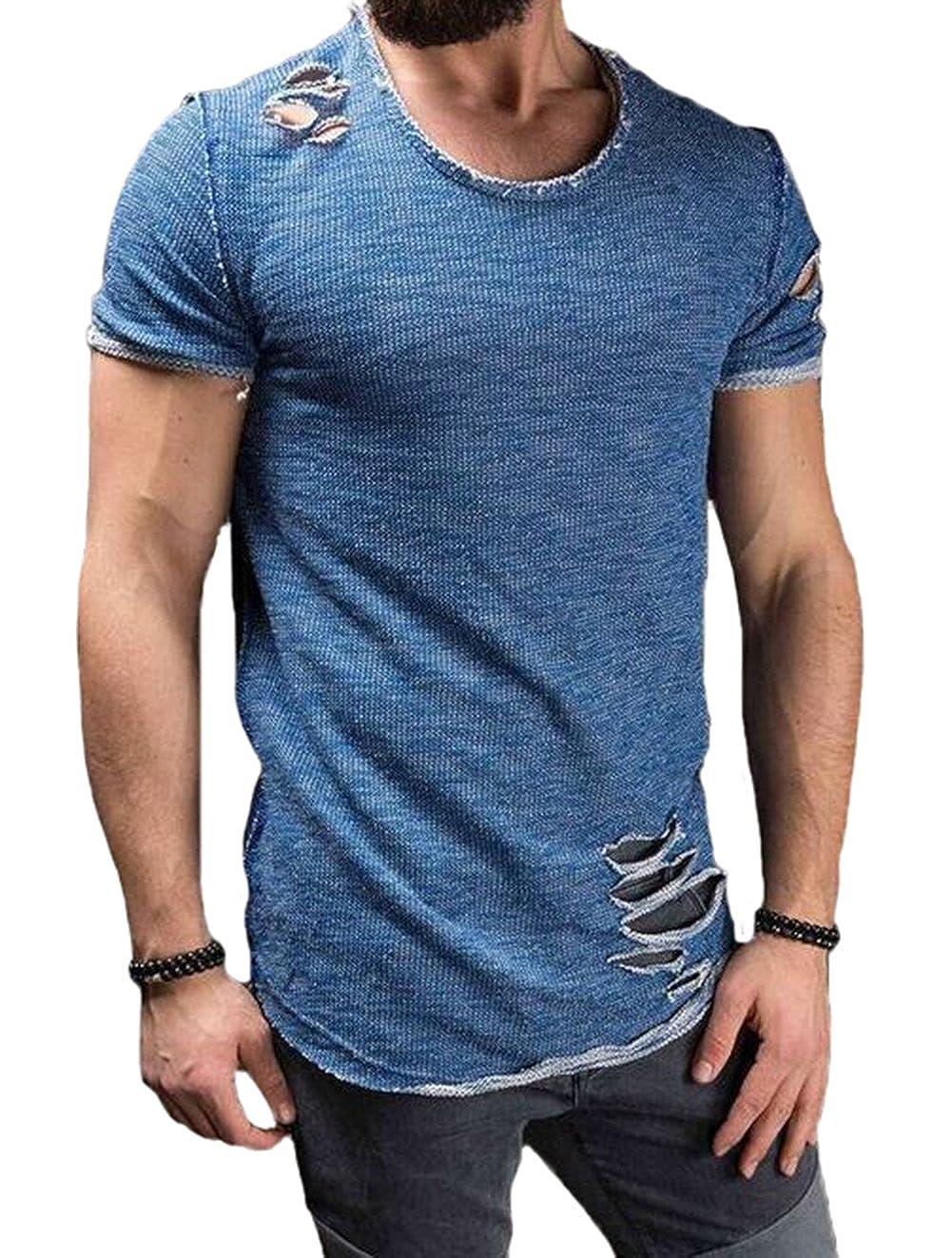 0373fe91269 Top 10 wholesale Slim Fit Longline T Shirt - Chinabrands.com