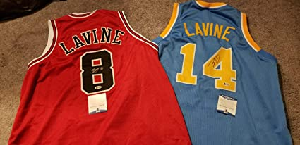 finest selection 4b59a 74fb4 2 X Zach Lavine Autographed Signed Memorabilia Ucla Bruins ...