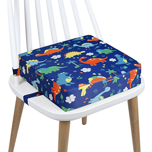 Blue-Yan Children Dining Chair Booster Cushion Frog